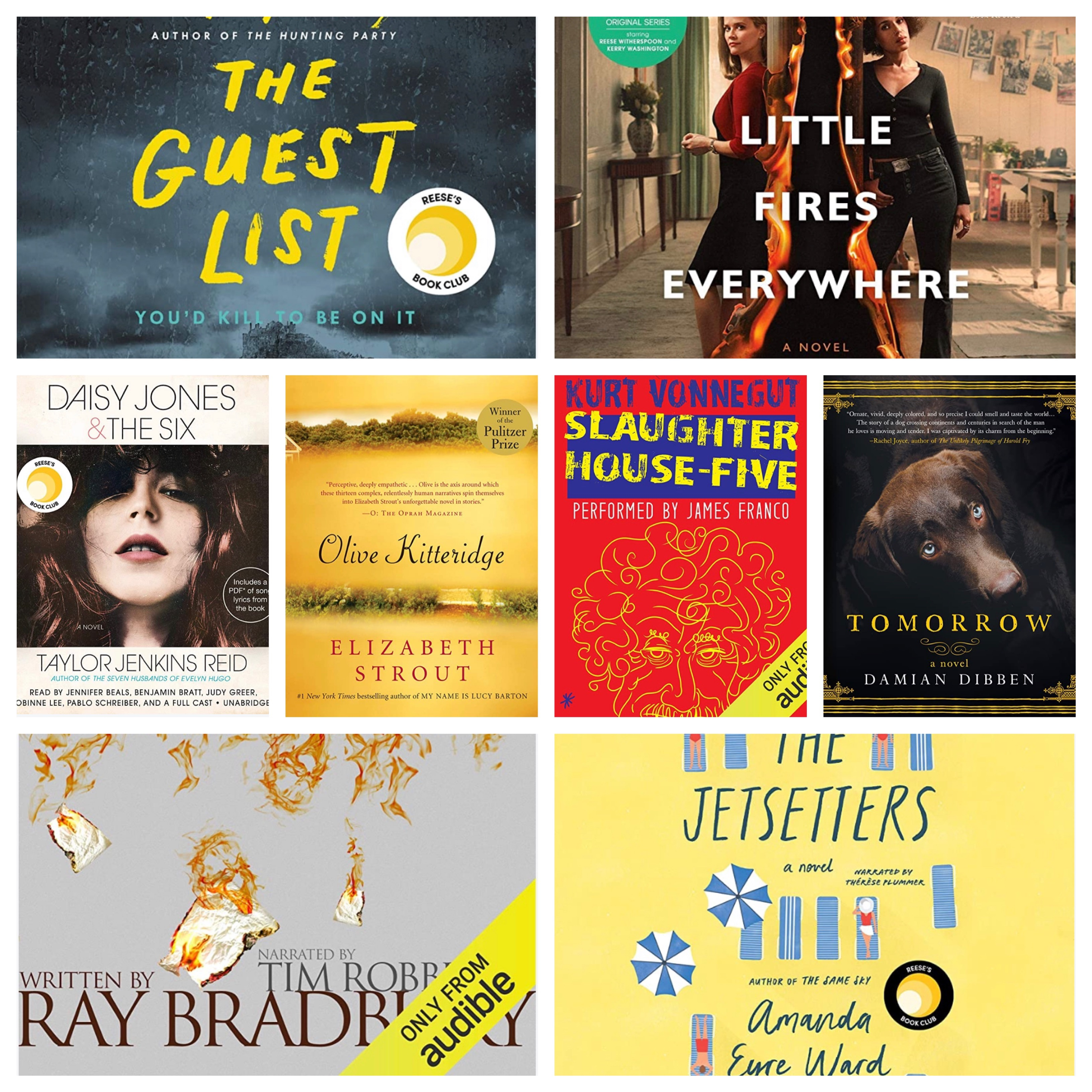 My Audiobook Club – August/September