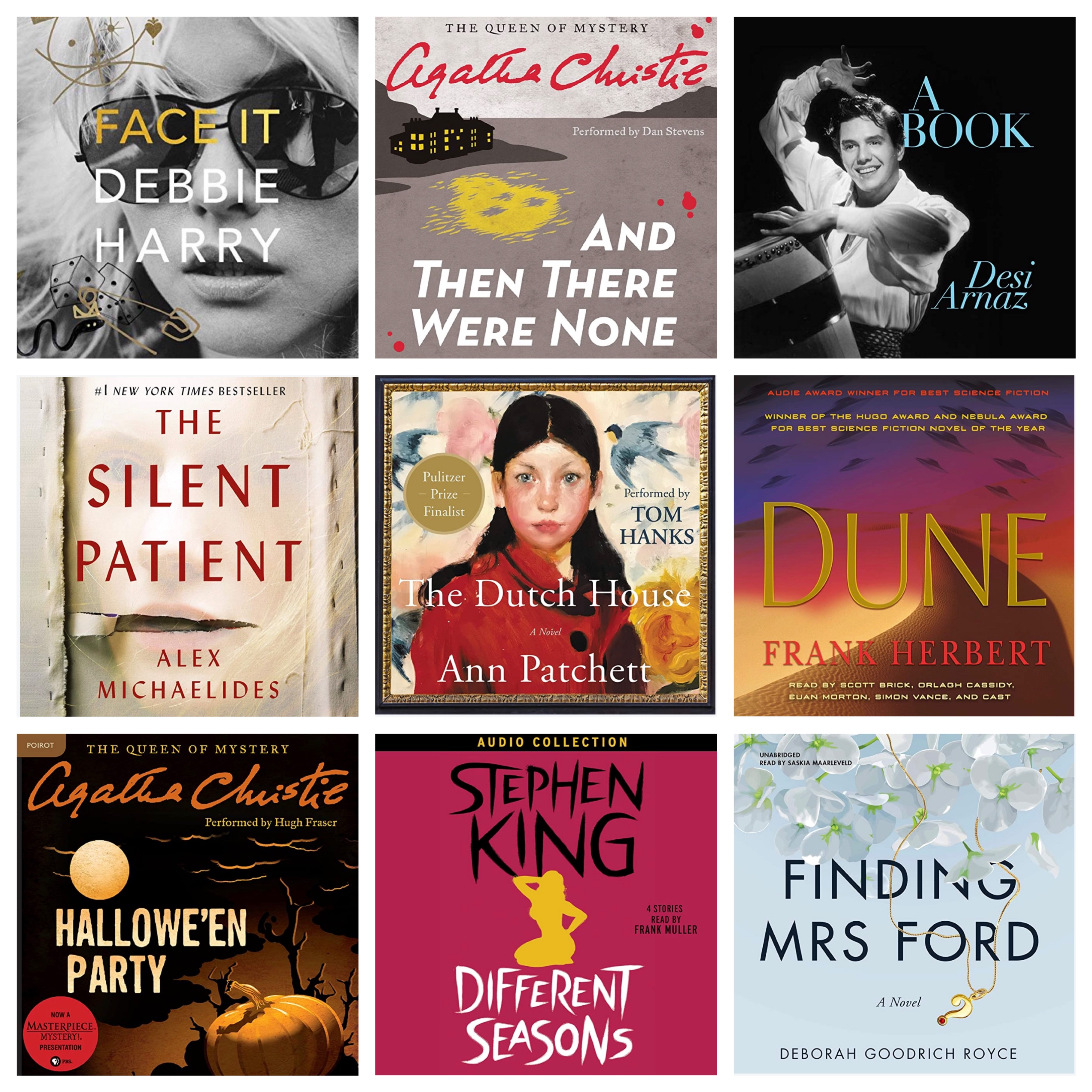 My Audiobook Club- Sept/Oct