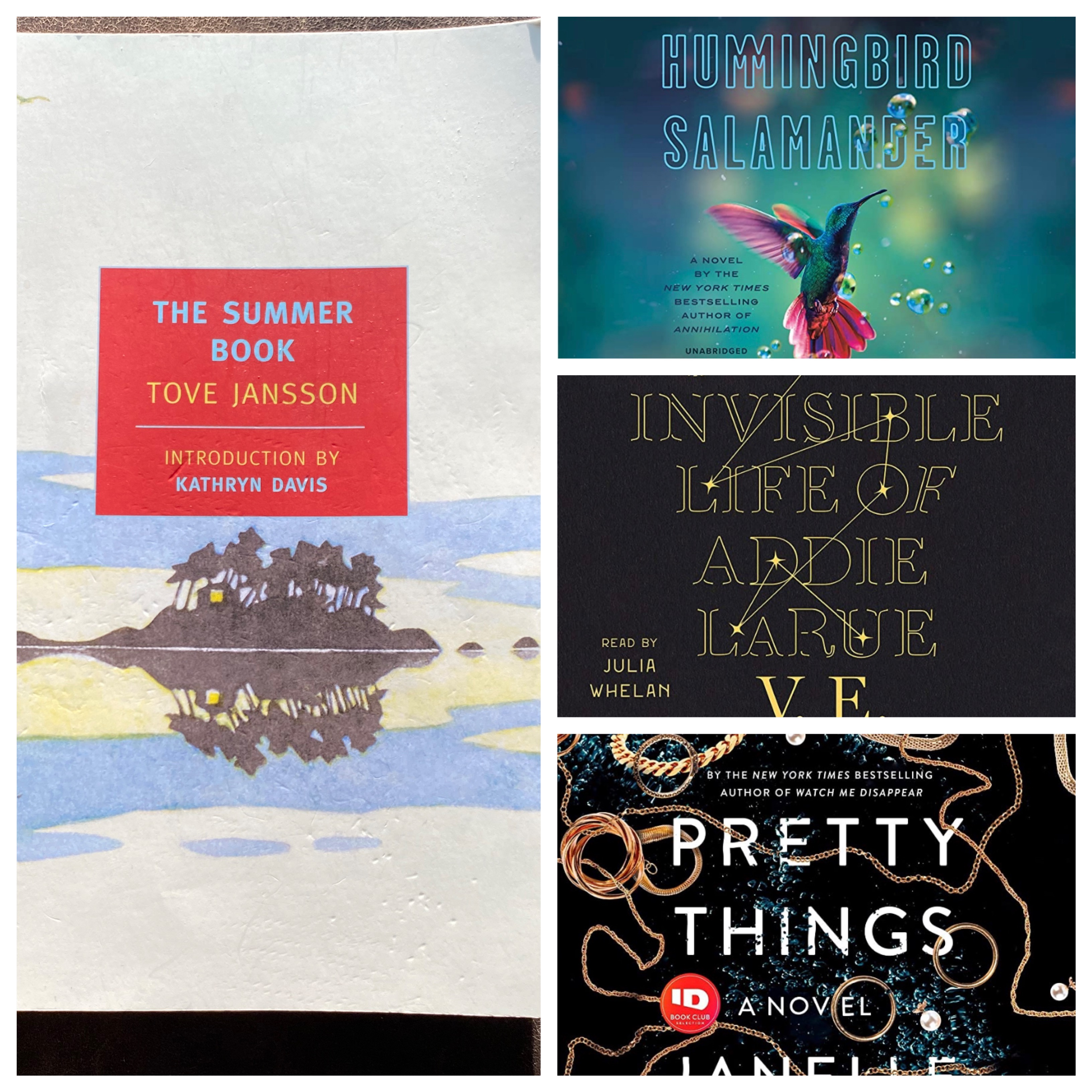 June-July Reads and Listens